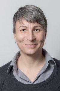 Die Öffentlichkeitsreferentin Astrid Tautz